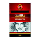 Koh-I-Noor 8911 Progresso Woodless Graphite Pencils in HB to 8B - Packs of 12