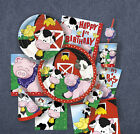 FARM FRIENDS Birthday PARTY (Farmyard Animals) Tableware Balloons & Decorations