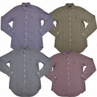 New Polo Ralph Lauren Button Down Shirt Mens Classic Fit Long Sleeve Checks W020