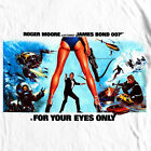 James Bond 007 For Your Eyes Only t shirt retro vintage 70's spy film tee shirt