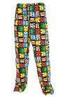 Marvel Comics Avengers Characters Face Grid NWT Pajama Lounge Pants