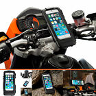 """Motorcycle Handlebar U-Bolt 3"""" Extended Mount + Case For Apple iPhone 6 6s 4.7"""