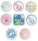 """Baby Shower 8 Large Paper Plates 9"""" (Boy/Girl/Party/Tableware/Decoration)"""