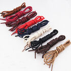 4 Size,Colored Men Lady Round Waxed Lace Shoelace String for Leather Shoes Boot