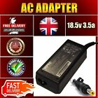 HP Comaq 18.5v 3.5a Yellow Tip 380467 Laptop Power Supply AC Adapter Charger for