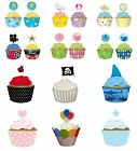 Cupcake Wraps & Picks (Creative Converting) (Baking/Kids/Decoration/Cake)