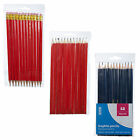 500 Red Or Blue Graphite HB Consortium Pencils School Arts & Crafts Stationery