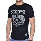 SO HYPE - TSHIRT MANCHES COURTES - HOMME - TIGER - NOIR NEUF