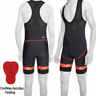 Cycling Bib Shorts Front Bib Tights Cycle Shorts 8 Panel ANTI-BAC Padding
