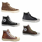 Converse Chucks All Star Hi Leather Shoes Casual Shoes Men's Sneakers Size 41-50