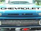 64-66 Chevy Truck Pickup CHEVROLET Grill Letters 1964, 1965,1966 Decal, Sticker