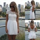 2015 Women Summer Bandage BodyCon Lace Evening Sexy Party Cocktail MINI Dress