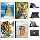 Wild Tiger Folio Cover Leather Case For Apple iPad