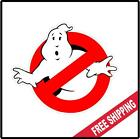 Ghostbusters Vinyl Wall logo Decal Sticker Paranormal Ghost Various Sizes