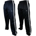 Mens Boys Tracksuit Track Pants Sports Bottoms Pant PE School Zip Pockets New