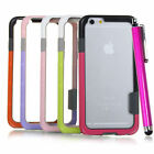 "Hybrid Hard Bumper Soft Rubber Skin Case Cover For iPhone 6 4.7""/Plus 5.5""&Flim"