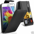 Samsung Galaxy Core Prime PU Leather Top Flip Phone Case Skin Cover Pen+Film+Pen