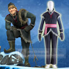 Adult Frozen Kristoff Costume Deluxe Cosplay Costume Full Set FREE P&P