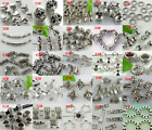 jewelry beaded - Lot Metal Tibetan Silver Charm Spacer Beads Jewelry Finding ~Lot Size Styles~