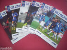 2014/15 - GILLINGHAM HOME PROGRAMMES CHOOSE FROM