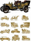 VINTAGE CARS PRINT FRAMED CANVAS ART PRINT A0 A1 A2