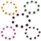 20PCs Baby Plastic Doll Safety Eyes For Animal Toy Puppet Making DIY
