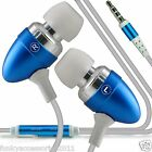 Stereo Sound In Ear Hands Free Headset Head Phones+Mic fits HTC Desire 320