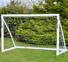 "Wollowo Football Goal ""Lock Together"" Model UPVC Posts Soccer Training Net"