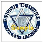 Dodge Brothers Cars Logo Service Magnets Vinyl Stickers Decals