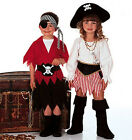 Sew & Make Butterick 6295 SEWING PATTERN - Childrens PIRATE HALLOWEEN COSTUMES