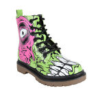 Iron Fist ZOMBIE STOMPER Combat 7-Eye BOOTS Brain Stiefel Rockabilly