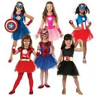 Superhero Tutu Dress Costume Marvel Universe Halloween Fancy Dress