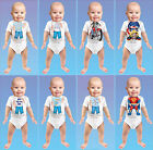 Just Add a Kid Baby Boys Kids 6 Months Bodysuit Various Designs 100% Cotton