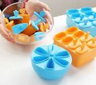 Novelty Frozen Ice Cream Pop Lolly Mold Maker Mould Tray Pan DIY For Popsicle LA
