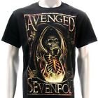 Sz S M L XL XXL 2XL Avenged Sevenfold A7X T-shirt  Black Many Size Av82