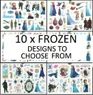 FROZEN DISNEY Temporary Tattoos Brand New and Sealed *10 Designs to choose from*