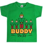 Buddy The Elf Green Kids T-Shirt