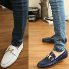 Fashion Men's Casual Shoes Slip On Loafer Shoes Moccasins Driving Shoes US HF