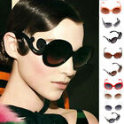 HOT Arrival Fashion Retro Lady's Butterfly Cloud Semi Transparent Round Sunglass