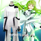 Code Geass C.C. Cosplay Costume Full Set FREE P&P