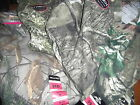 Unisex Camo Tees Real Tree and Mossy Oak Size 8/10