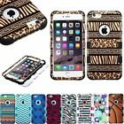 """Tuff HYBRID Rubber Hard Protective Case Cover For Apple iPhone 6 6S Plus 5.5"""""""