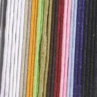 100 Meter Waxed Cotton Cord Roll Jewellery Making Bracelet String Strong Thread