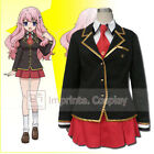 Baka and Test Fumizuki Academy Girls Winter Uniform.Cosplay Costume FREE P&P