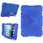 Kids Shockproof Heavy Duty Rubber Hard Case Cover for iPad Mini 1 2 3 / Air 2