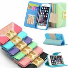 Magnetic Wallet Leather Case Card Pocket Photo Bag Flip Stand Cover for iPhone