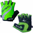 Deko Neon Fingerless Summer Cycling Glove Bike Track Mitts with Vented Palm