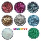 Snazaroo GLITTER GEL 12ml Pots - All Colours (Sparkle/Body/Fancy Dress/Make Up)