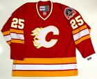 JOE NIEUWENDYK CALGARY FLAMES 1989 STANLEY CUP CCM VINTAGE JERSEY NEW WITH TAGS