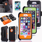 Hybrid Rugged Waterproof Shockproof Holster Clip Case Cover For Apple iPhone 6
